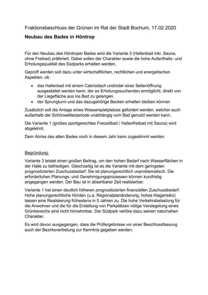 _Fraktionsbeschluss Bad Höntrop 2020_1